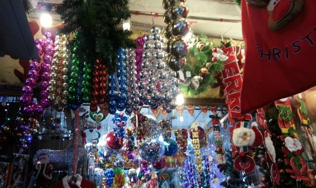 Christmas in the Hong Kong stationary shops