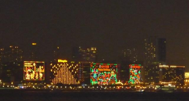 Kowloon Christmas lights, Hong Kong