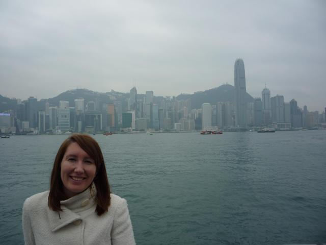 View from The Avenue of the Stars, Tsim Sha Tsui