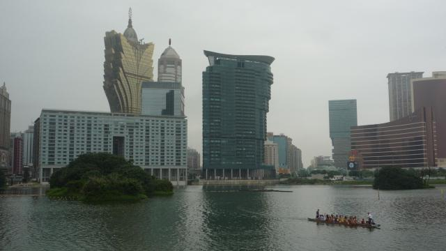 Macau's casino district