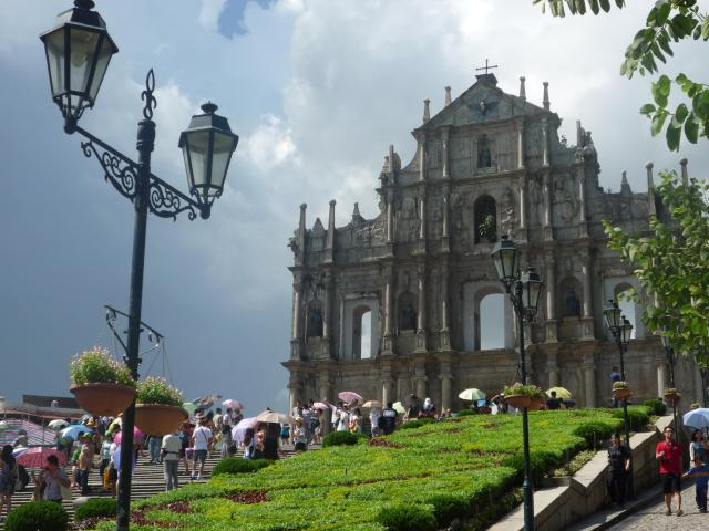 The Church of St Paul, Macau