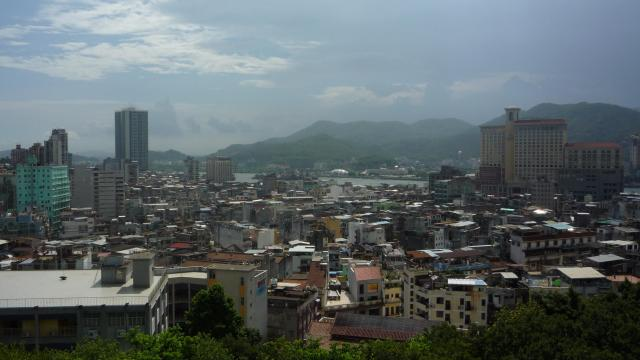 View from Monte Fort, Macau