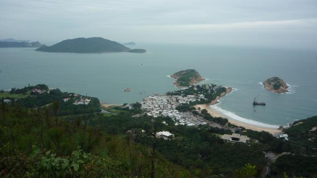 Shek O from the Dragon's Back, Hong Kong