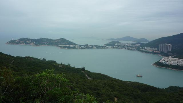 Stanley from the top of the Dragon's Back, Hong Kong