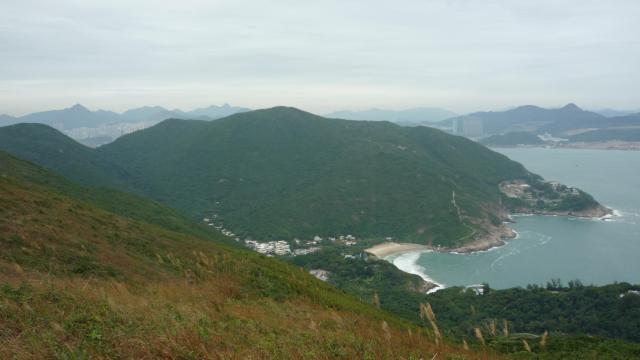 Big Wave Bay from the Dragon's Back, Hong Kong