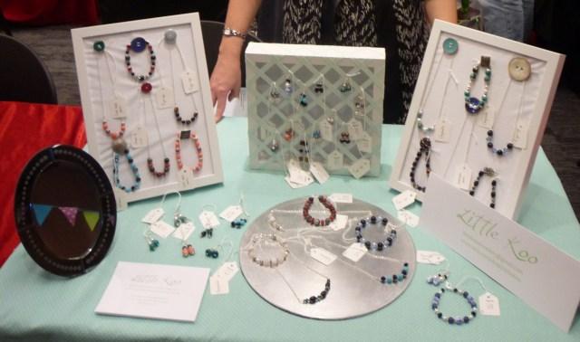 Little Koo craft fair jewellery stall