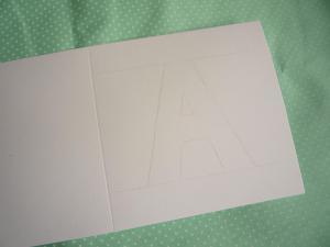 Letter outline