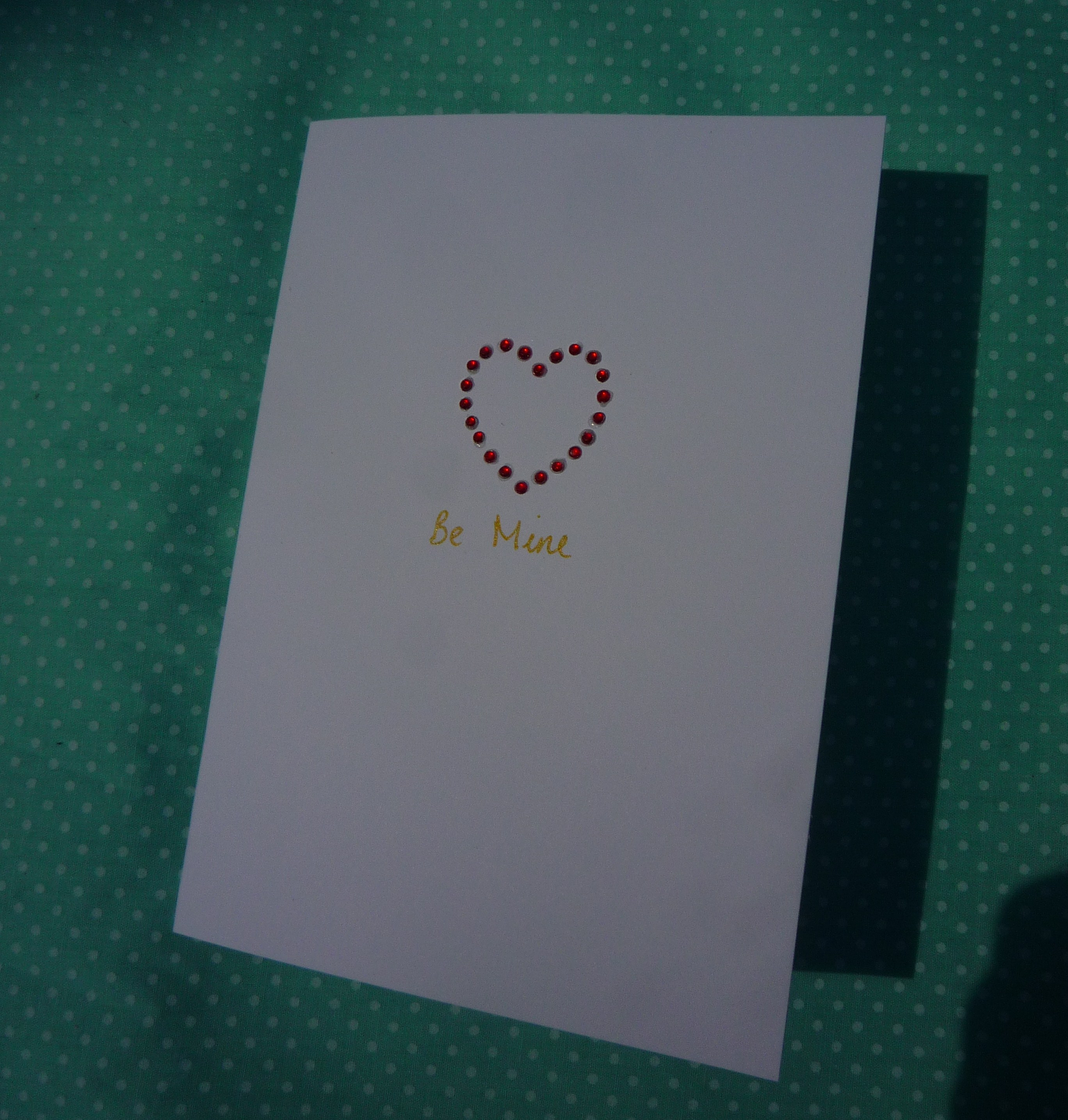Handmade cards simple Valentines Day card – Simple Valentines Day Cards