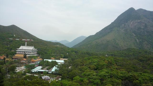 Po Lin monastery, Lantau
