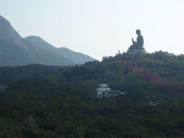 Big Buddha from the cable car