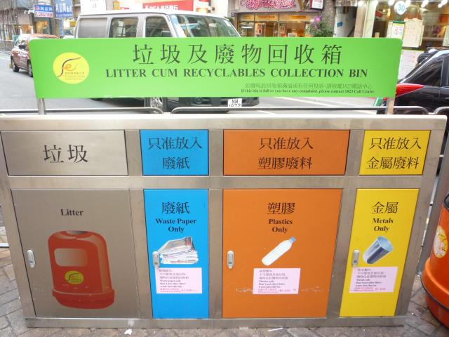 Litter Cum Recycling Bin
