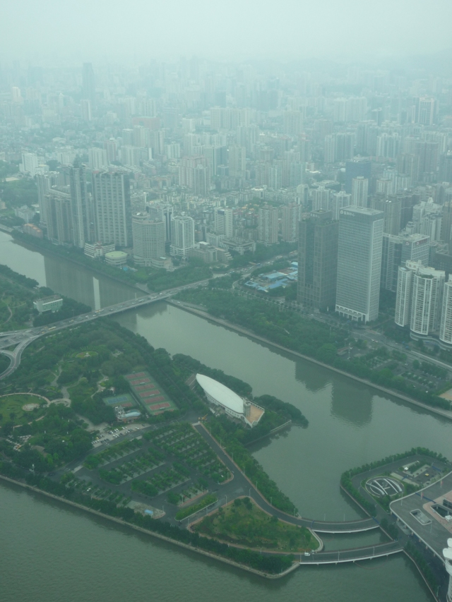 View from Canton Tower Guangzhou