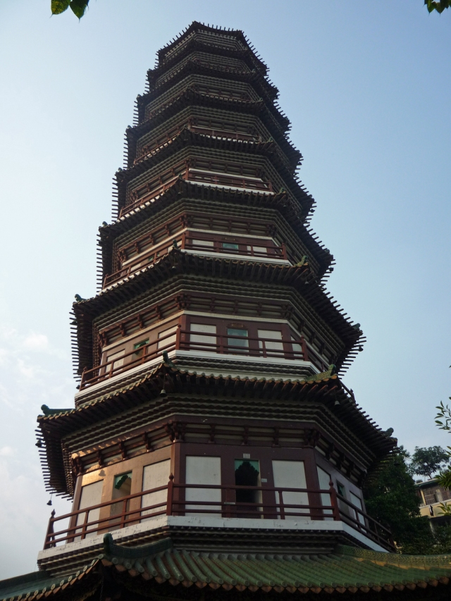 Temple of the Six Banyan Trees pagoda