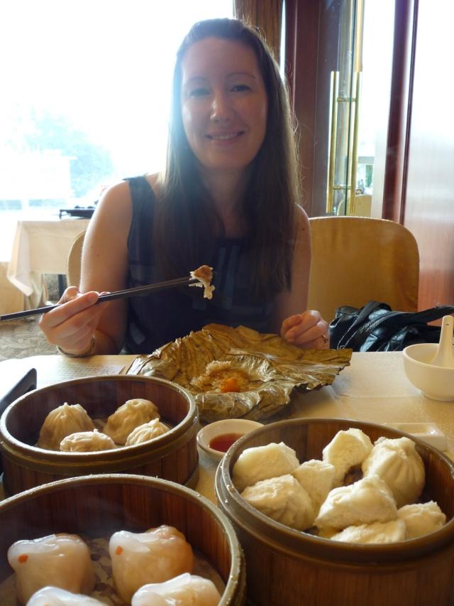 Dim sum at Panxi restaurant, Guangzhou