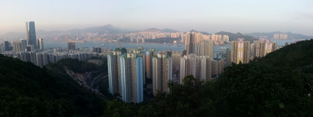 Panorama view over Tai Koo