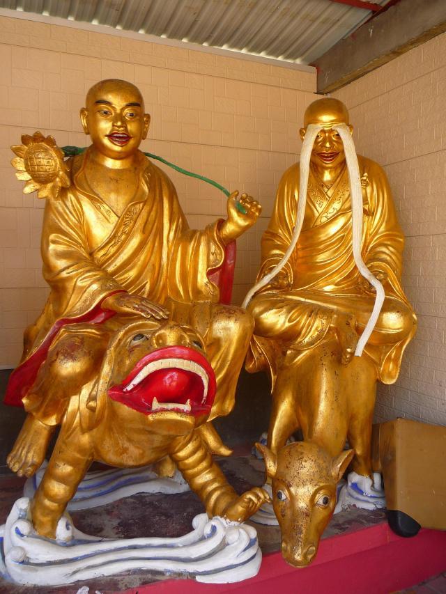 10000 buddhas eyebrows