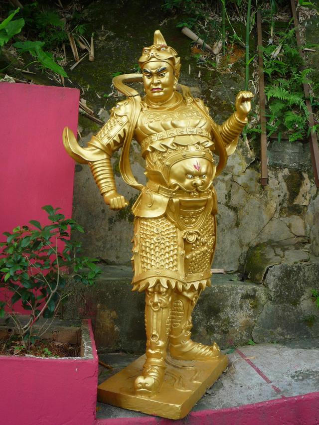 10000 buddhas soldier buddha