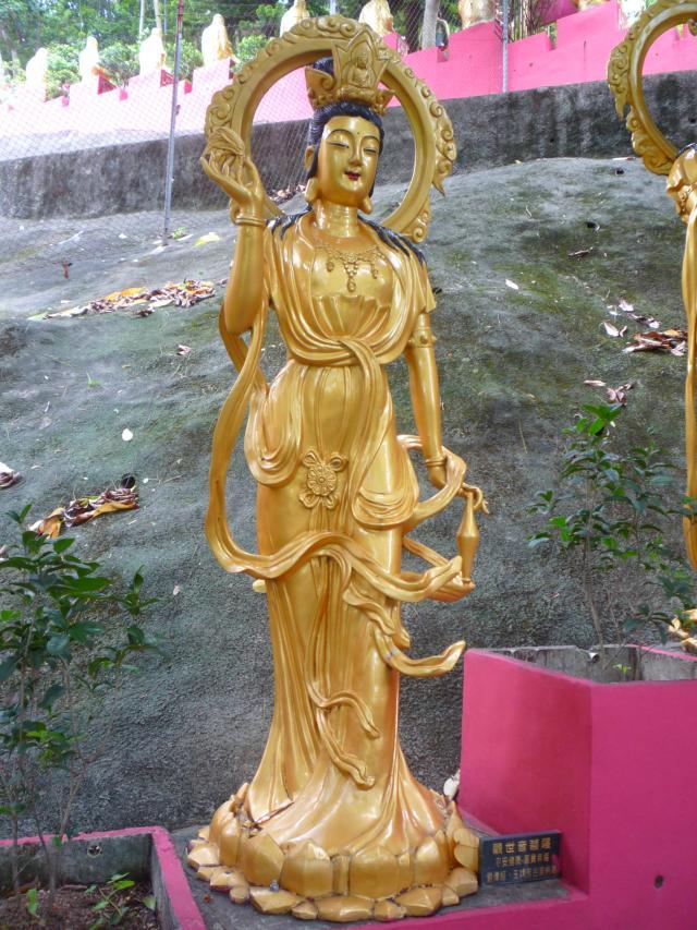 10000 buddhas thai buddha