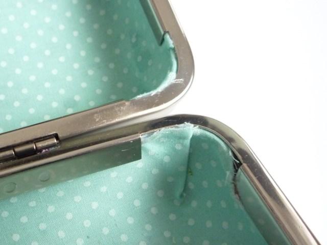 Exposed fabric edges