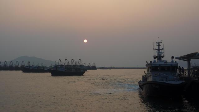 Fishing boats at Cheung Chau
