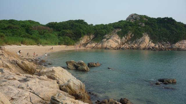 Italian beach, Cheung Chau