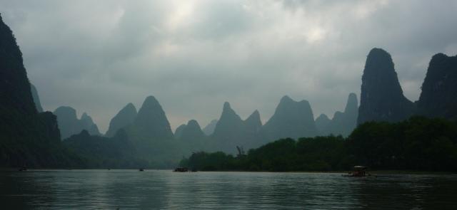 Li River Karst hills
