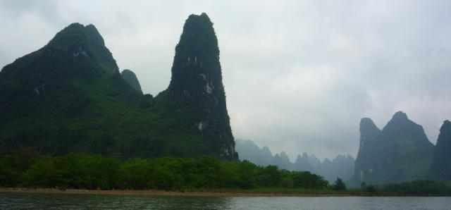 Li River mountains