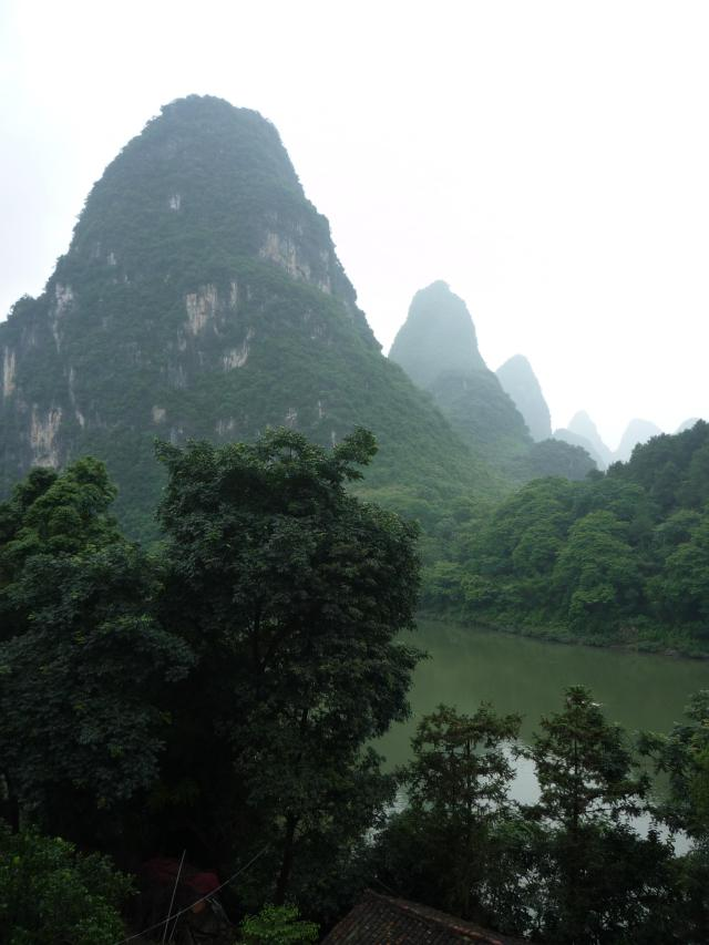Li River Retreat Yangshuo view
