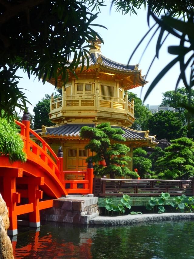 Nan Lian Gardens pagoda