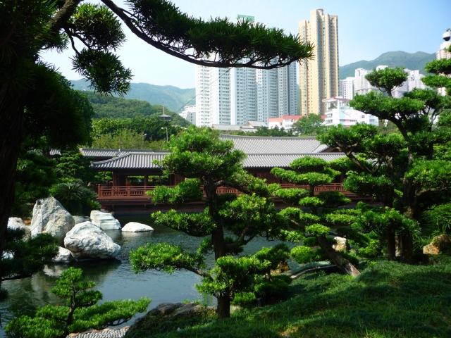 Nan Lian Gardens tea house