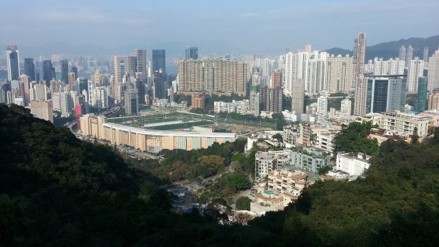 view over Happy Valley