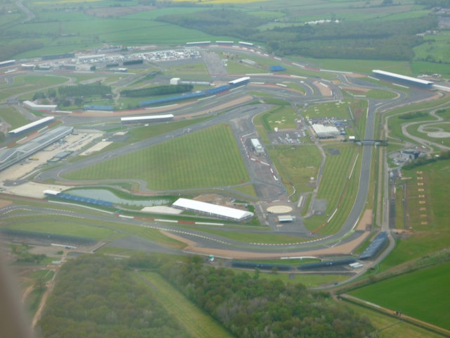 view over Silverstone