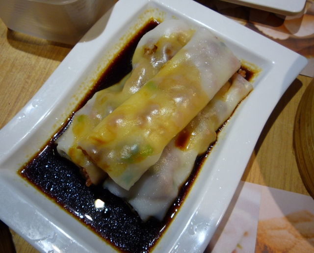 BBQ pork rice roll