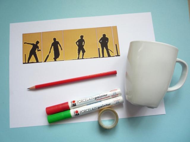 decorating mugs equipment