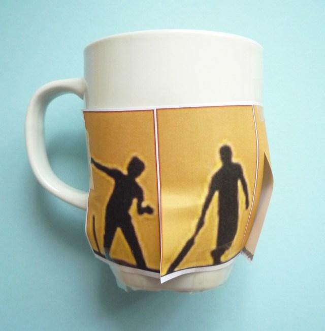 decorating mugs sticking image