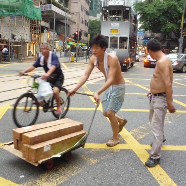 Hong Kong cart deliveries
