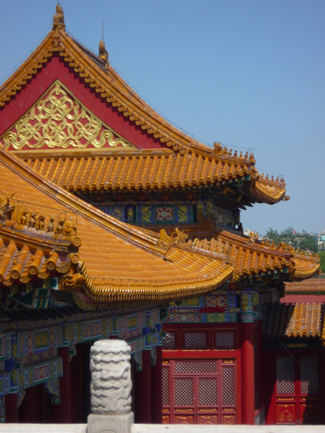 Forbidden city rooftops