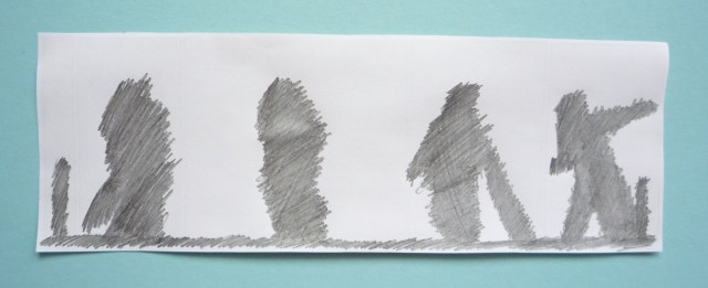 scribbled image