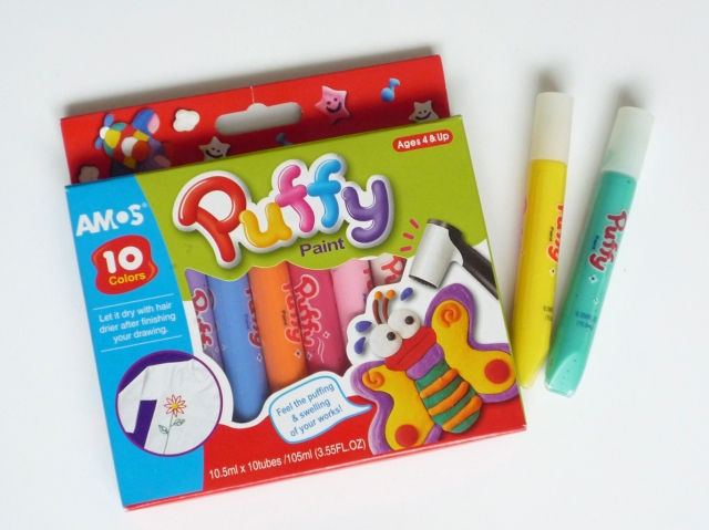 Amos Puffy Paint Pens