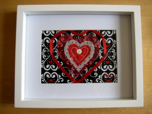 Fabric Heart Picture 021