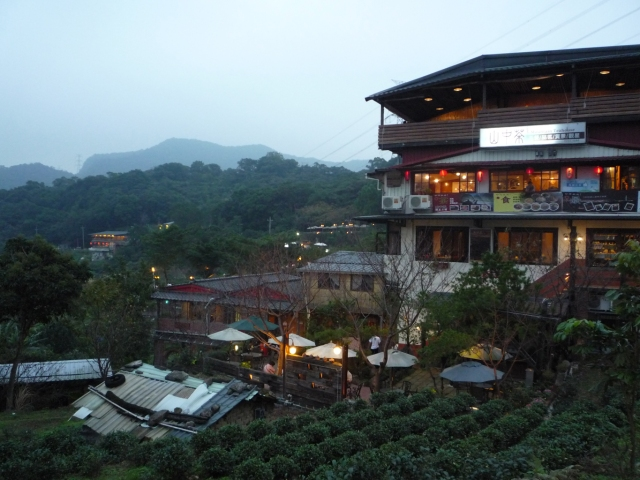 Maokong tea houses