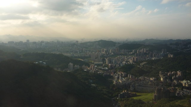 View from Maokong gondola