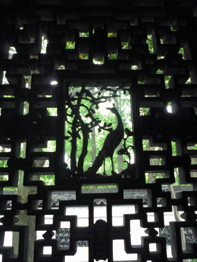 Yuyuan Garden lattice