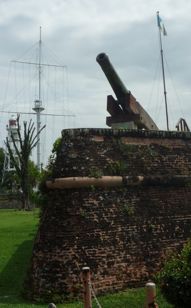 Cannon at Fort Cornwallis Georgetown