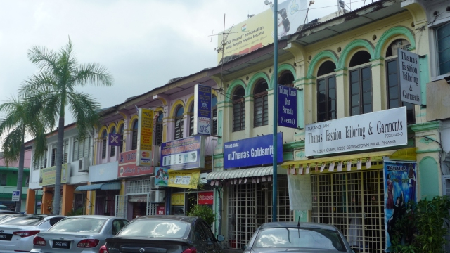 Chinese shophouses Georgetown