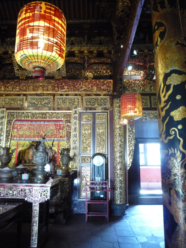 Inside Khoo Kongsi Georgetown