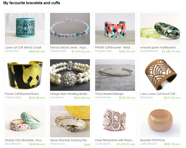 my-favourite-bracelets-etsy-treasury