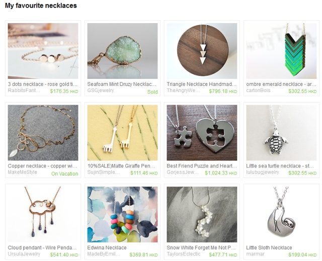 my-favourite-necklaces-etsy-treasury