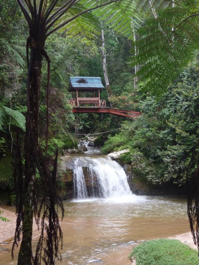 Parit Waterfall Cameron Highlands