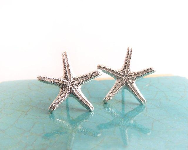 Starfish Posts_BlueDotJewelry